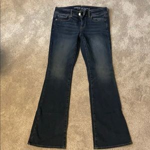 American Eagle Kick Boot style jeans - Like New